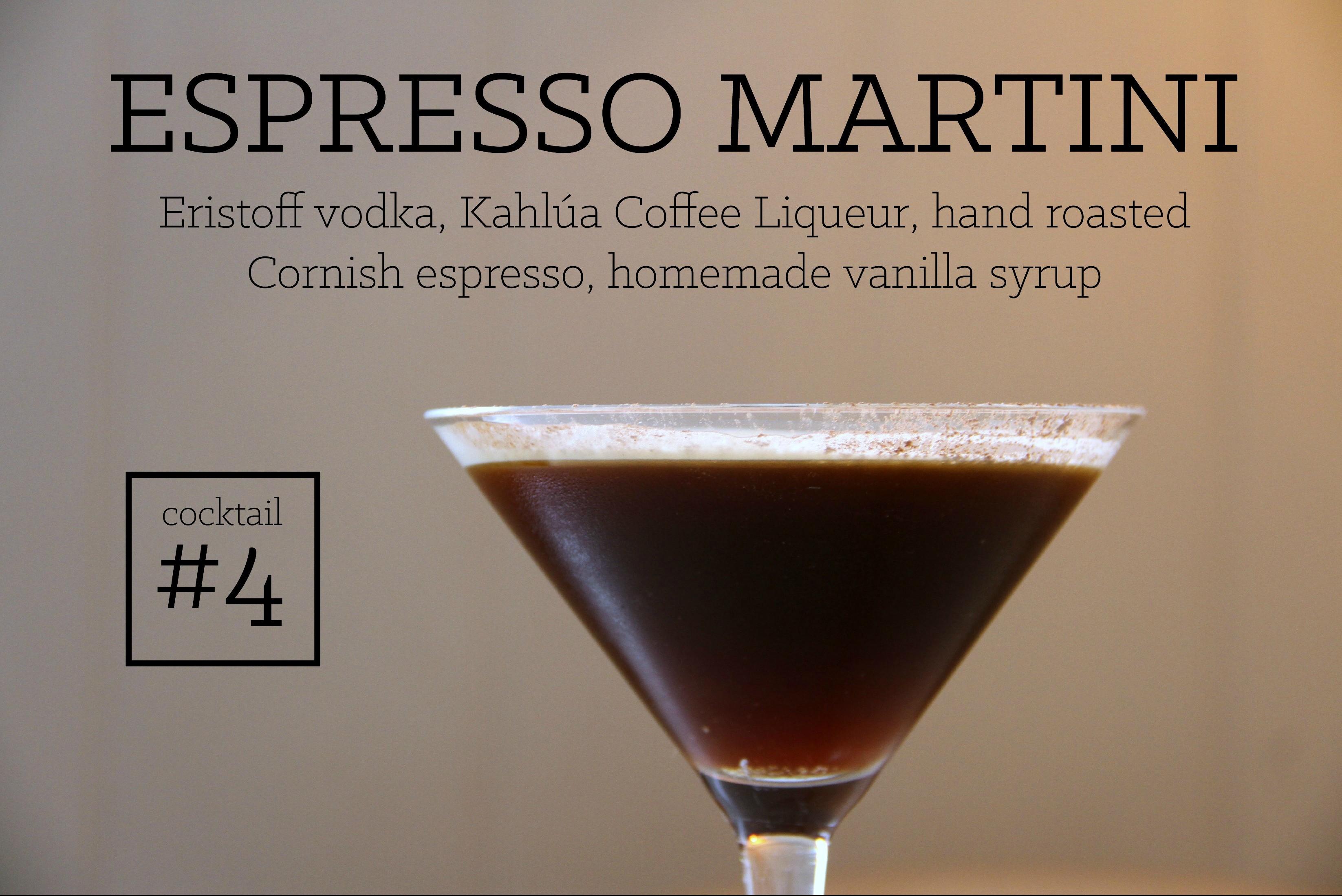 Espresso Martini new menu