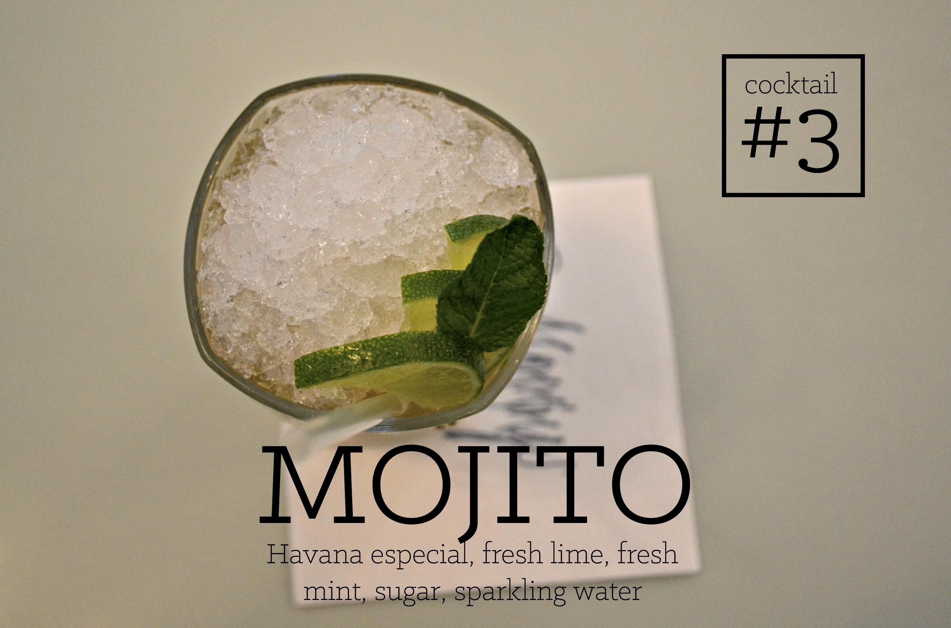 Mojito new menu