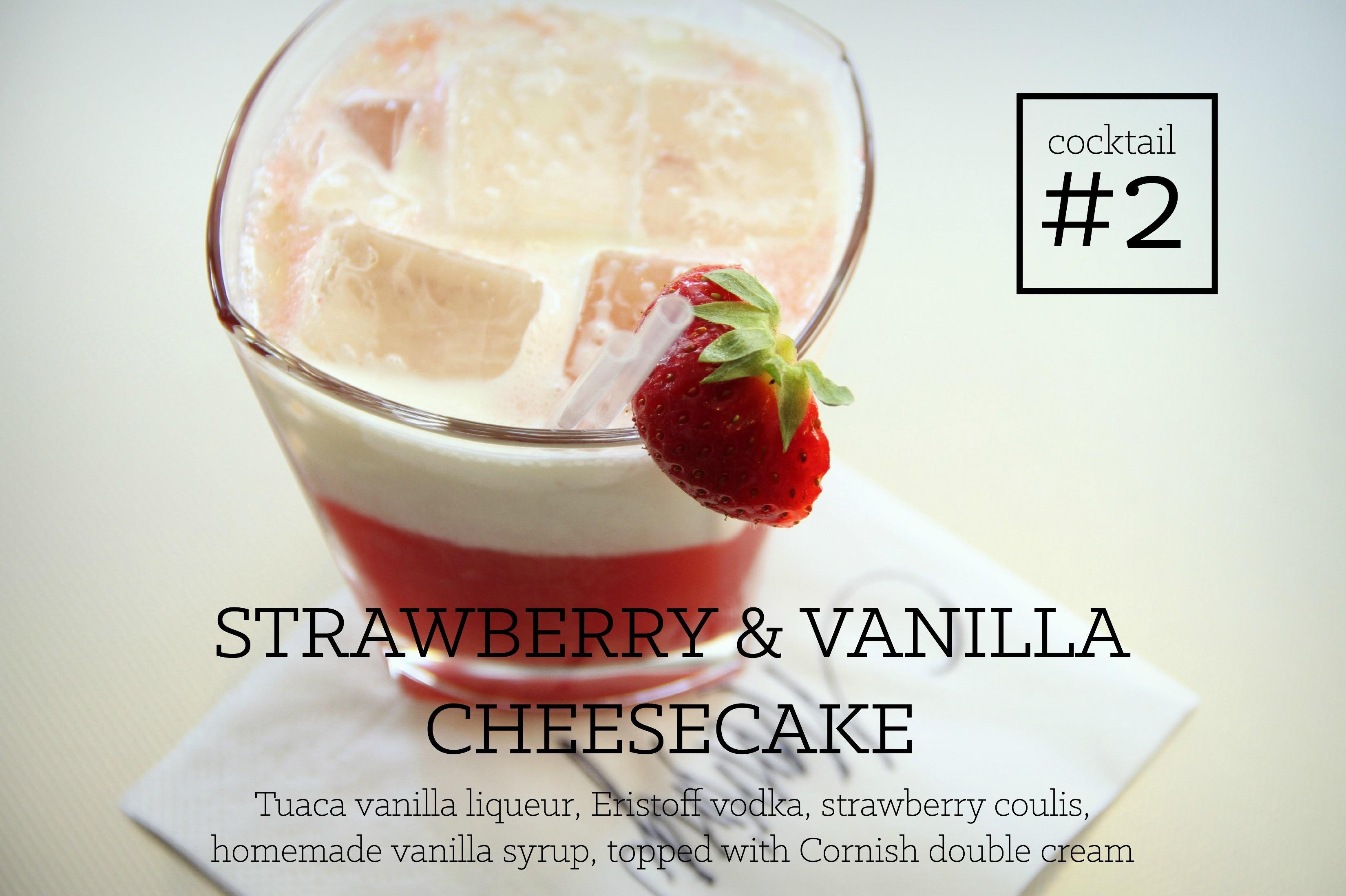 Strawberry and Vanilla