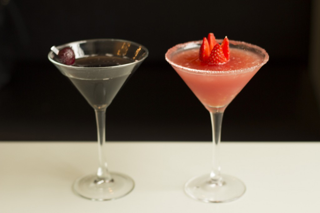 the Roxie and Velma cocktails